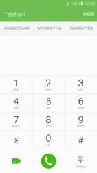 Samsung Samsung G920 Galaxy S6 (Android M) - Voicemail - Handmatig instellen - Stap 4