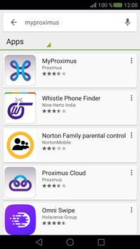 Huawei Mate S - Applications - MyProximus - Step 5