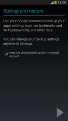 Samsung I9505 Galaxy S IV LTE - E-mail - Manual configuration (gmail) - Step 13