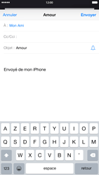 Apple iPhone 6 Plus iOS 8 - E-mail - envoyer un e-mail - Étape 6