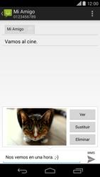 Motorola Moto X (2ª Gen) - Mensajería - Escribir y enviar un mensaje multimedia - Paso 17