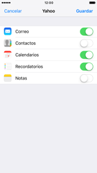 Apple iPhone 6 iOS 10 - E-mail - Configurar Yahoo! - Paso 8