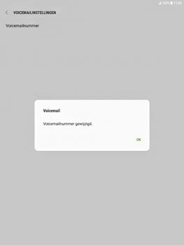 Samsung Galaxy Tab S2 9.7 - Android Nougat - Voicemail - Handmatig instellen - Stap 10