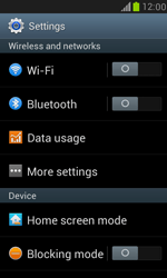 Samsung I8190 Galaxy S III Mini - Internet - Disable data roaming - Step 4