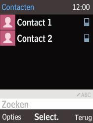 Nokia 216 - Contacten en data - Contacten kopiëren van toestel naar SIM - Stap 4