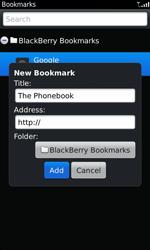BlackBerry 9860 Torch - Internet - Internet browsing - Step 8