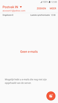 Samsung J710 Samsung Galaxy J7 (2016) - E-mail - handmatig instellen (yahoo) - Stap 5