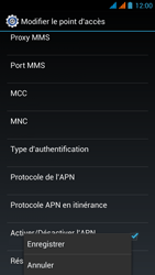 Wiko Stairway - Internet - Configuration manuelle - Étape 18