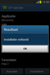 Samsung S6810P Galaxy Fame - Internet - Automatisch instellen - Stap 7