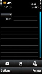 Nokia X6-00 - MMS - envoi d'images - Étape 4