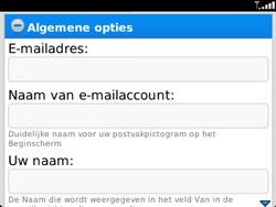 BlackBerry 9320 Curve - E-mail - Handmatig instellen - Stap 14