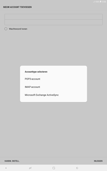 Samsung galaxy-tab-a-10-5-sm-t595 - E-mail - Account instellen (IMAP met SMTP-verificatie) - Stap 8