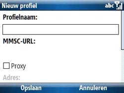 Samsung C6620 - MMS - handmatig instellen - Stap 18