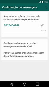 LG G4 - Aplicações - Como configurar o WhatsApp -  8
