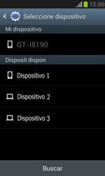 Samsung Galaxy S3 Mini - Bluetooth - Transferir archivos a través de Bluetooth - Paso 10