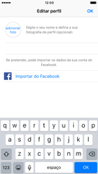 Apple iPhone 6 iOS 10 - Aplicações - Como configurar o WhatsApp -  13