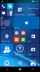 Microsoft Lumia 950 - Applications - Create an account - Step 1