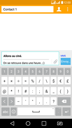 LG LG K8 - Contact, Appels, SMS/MMS - Envoyer un MMS - Étape 13