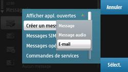 Nokia N97 - E-mail - envoyer un e-mail - Étape 5