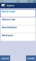 Samsung S5250 Wave 525 - E-mail - Configuration manuelle - Étape 5