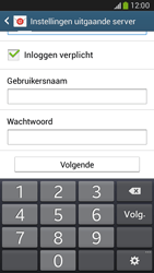 Samsung G386F Galaxy Core LTE - E-mail - Account instellen (IMAP met SMTP-verificatie) - Stap 13