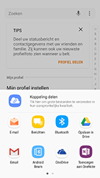 Samsung Galaxy S7 - Android N - Contactgegevens overzetten - delen via Bluetooth - Stap 8