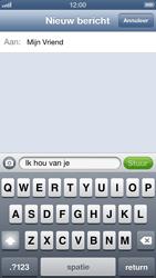 Apple iPhone 5 - MMS - afbeeldingen verzenden - Stap 7