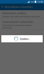 Samsung G388F Galaxy Xcover 3 - Netwerk - Handmatig een netwerk selecteren - Stap 7