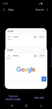 Samsung Galaxy S10e - Internet - Internet browsing - Step 20