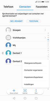 Huawei Mate 10 Pro - Contactgegevens overzetten - delen via Bluetooth - Stap 4
