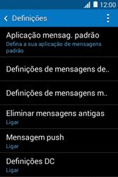 Samsung Galaxy Young II - SMS - Como configurar o centro de mensagens -  6