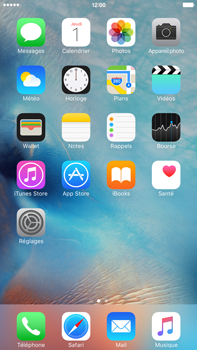 Apple Apple iPhone 6s Plus iOS 9 - MMS - envoi d'images - Étape 1