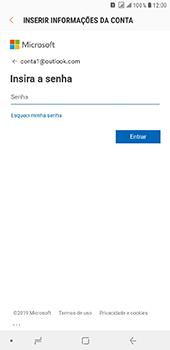 Samsung Galaxy J8 - Email - Como configurar seu celular para receber e enviar e-mails - Etapa 8