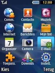 Samsung B2710 Xcover 271 - E-mail - Hoe te versturen - Stap 3