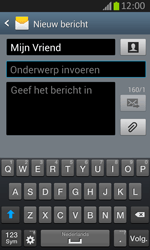 Samsung S7710 Galaxy Xcover 2 - MMS - afbeeldingen verzenden - Stap 10