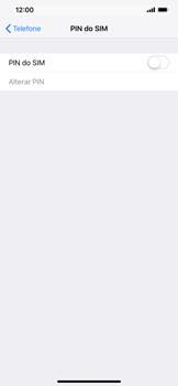 Apple iPhone XR - Segurança - Como ativar o código PIN do cartão de telemóvel -  5