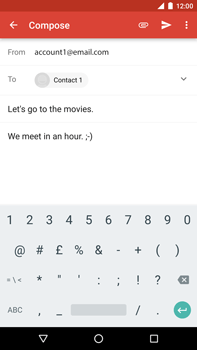 Huawei Google Nexus 6P - Email - Sending an email message - Step 9