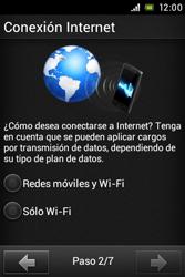Sony Xperia E - Primeros pasos - Activar el equipo - Paso 3