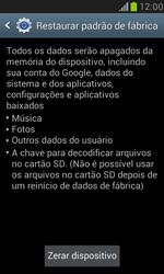 Samsung I8190 Galaxy S III Mini - Funções básicas - Como restaurar as configurações originais do seu aparelho - Etapa 6