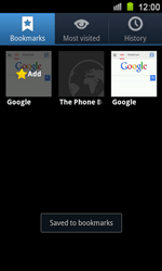 Samsung I8160 Galaxy Ace II - Internet - Internet browsing - Step 9