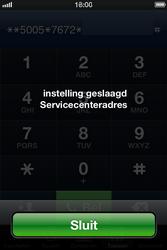 Apple iPhone 4 S - SMS - handmatig instellen - Stap 7