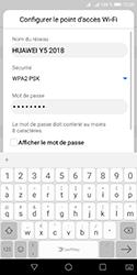 Huawei Y5 (2018) - Internet et connexion - Partager votre connexion en Wi-Fi - Étape 7