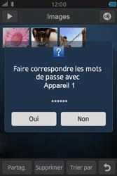Samsung Wave M - Photos, vidéos, musique - Envoyer une photo via Bluetooth - Étape 11