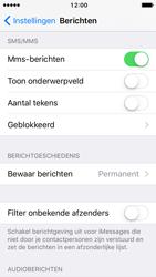 Apple iPhone SE iOS 10 - MMS - probleem met ontvangen - Stap 11