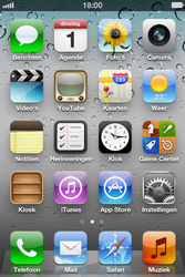 Apple iPhone 4S met iOS 5 (Model A1387) - Voicemail - Handmatig instellen - Stap 1