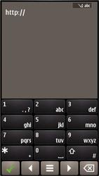 Nokia E7-00 - Internet - Hoe te internetten - Stap 12