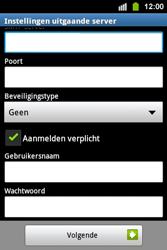 Samsung S5830i Galaxy Ace i - E-mail - Handmatig instellen - Stap 14