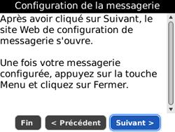 BlackBerry 8520 - E-mails - Ajouter ou modifier un compte e-mail - Étape 7