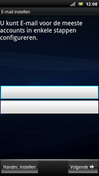 Sony Ericsson Xperia Arc - E-mail - Handmatig instellen - Stap 6