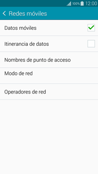 Samsung N910F Galaxy Note 4 - Internet - Configurar Internet - Paso 7